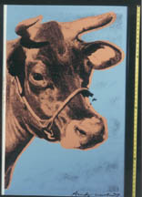 Andy Warhol: Cow from Whitney Museum installation