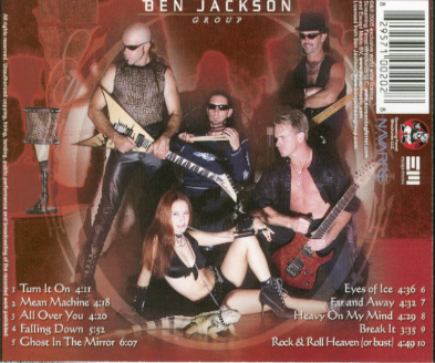 Ben Jackson Group, photographer and photos for CD cover, C
