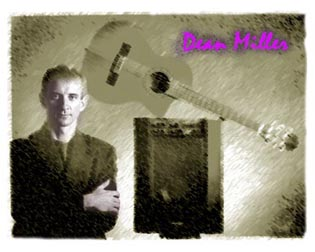 Dean Miller Guitarist Musician singer, photographer and photos for CD cover, CD art, Florid