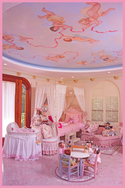 Nation ad Housetrends for Little Girls pink fantasy room www.bradentonphotography.com www.garysweetman.com www.lakewoodranchphotography.com www.bradentonphoto.com www.lakewoodranchphoto.com