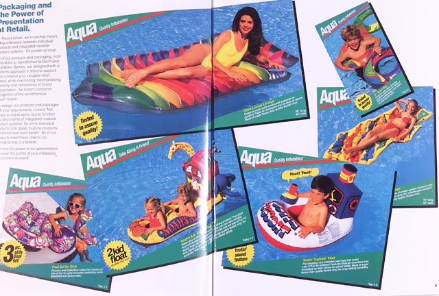 Aqua Leisure pool floats and rafts