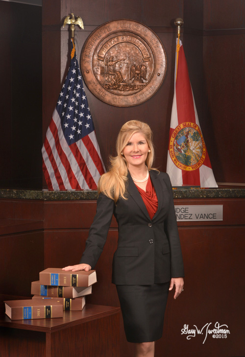 Formal judical portrait Judge Kim Hernandez Vance Tampa FL