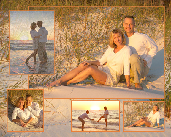 Beach Engagement Composite