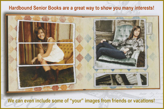 senior albums, photobooks for high school student, photomix album, custom book of senior pictures
