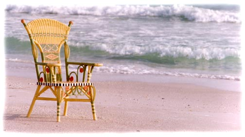 Options empty chair surf sand exiting new stock photography for purchase reuse in print web