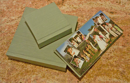 chinese silk custom wedding photobook album Album Crafters