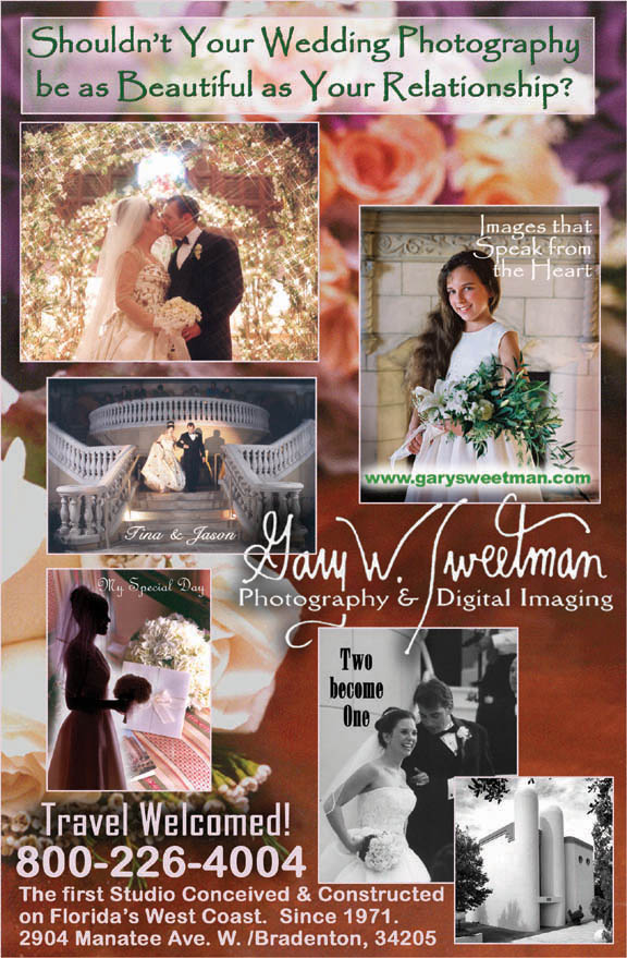 www.garysweetman.com direct mail professional photography wedding photo promo piece